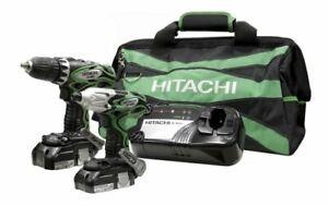 Hitachi 18-Volt Lithium Ion Drill/Impact Combo Kit
