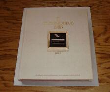Original 1988 Oldsmobile Toronado Ninety Eight Delta 88 Sales Brochure 88