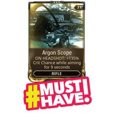 Warframe (PC) - Argon Scope MOD