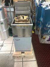 CANMAC Pitco SINGLE TANK DBL BASKET Fryer Natural Gas