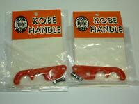Kobe Handle Vintage BMX Brake Lever Blades Dia-Compe? Red PAIR Haro GT Dyno