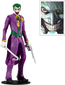 """McFarlane Toys DC Multiverse The Joker Rebirth 7"""" Action Figure - NEW & IN-HAND"""