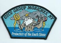 United States Coast Guard USCG patch, Group Moriches, NY 5 in dia south shore