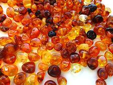 ca 3 gr Barock Naturbernstein gebohrt auffädeln lose Perlen 33 Perlen