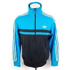Adidas Firebird Trainingsjacke Herren M Blau Schwarz Weiß Trefoil Jacke