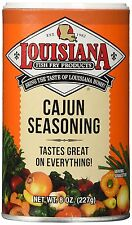 LOUISIANA FISH FRY Products CAJUN SEASONING 8oz  NEW