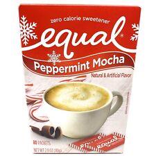Equal Zero Calorie Sweetener Peppermint Mocha 80 packets