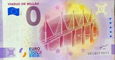 BILLET 0  EURO VIADUC DE MILLAU  FRANCE 2020  NUMERO DIVERS