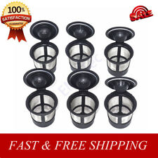 6 Reusable K-Cup Coffee Filter Pod Compatible with Keurig K50, K55 Coffee Maker