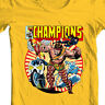The Champions T shirt classic Marvel Comics Hercules Iceman Angel graphic tee