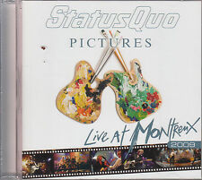 Statut quo pictures Live at Montreux 2009 CD neuf emballage d'origine/sealed