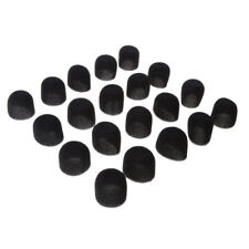 20Pack Small Foam Covers Windscreen Windshield for Lavalier Lapel Microphone