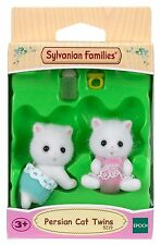 Sylvanian Families Persian Cat Twins Doll