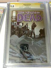 Walking Dead 107 (Image 2003) CGC 9.8 SS Signed by Adlard & Kirkman