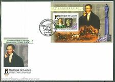 Guinea 2015 175th Anniversary Of The Penny Black S/S First Day Cover