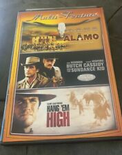 The Alamo+Butch Cassidy And The Sundance Kid+Hang Em High Triple Feature! New