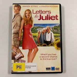 Letters to Juliet (DVD 2010) Amanda Seyfried Vanessa Redgrave Region 4