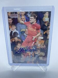 Topps Stadium Club Premier League James Milner Auto Rookie Season Liverpool