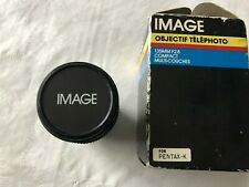 IMAGE 135mm F2.8 TELEPHOTO LENS COMPACT MULTI-COATED FIT PENTAX K