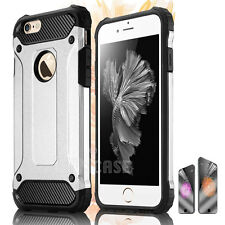 Rugged Shockproof Hybrid Silicone Armor Case Cover for Apple iPhone 7 Plus 6s 5s