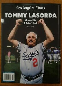 Los Angeles Times Commemorative Issue TOMMY LASORDA Baseball Life Dodger's Heart