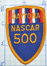 OHIO, DAYTONA NASCAR 500 RACE WAY RACE SOUVENIR PATCH