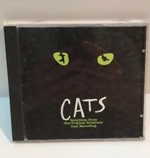Cats [Selections from Orig. Broadway Musical] Various Artists (CD, Dec-1993)