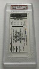 2012 NHL Stanley Cup Final Game 4 PSA 8 Los Angeles Kings Devils 6/6/12