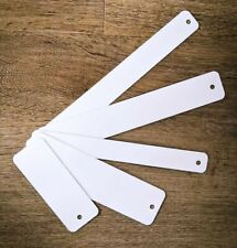 More details for sublimation bookmarks x 10 varies sizes blank printing pressing book mark