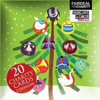 Box of 20 Clic Sargent Young Lives Vs Cancer Fairdeal Charity Christmas Cards