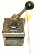 "Turret with 2 tools Enco brand for 16"" to 20"" lathe"