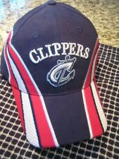columbus clippers red white blue minor league baseball hat cap Cleveland Indians
