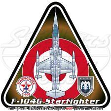 F-104 STARFIGHTER TURQUIE Lockheed-Canadair F-104G Turc Aérienne Autocollant