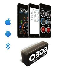 OBD-AUS Bluetooth Scan Tool Torque Android & iPhone Code Reader ELM327 OBDII