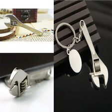 Alloy Innovative Mini Wrench Keychain Practical Attractive  Spanner Keyrings vhk
