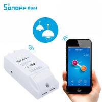 2-Way Sonoff Dual Smart Home DIY WiFi Wireless Switch Module APP Remote Control