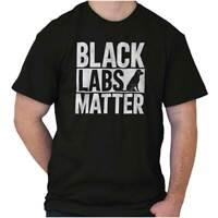 Black Labs Matter Labrador Pet Rescue Doggo Dog Adopt Love T Shirt Tee