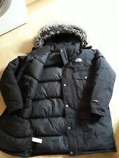 The North Face McMurdo RRP £ 345 Plumas De Ganso relleno HyVent Parka Abrigo con capucha L Negro