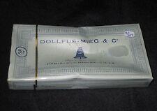 AC352 DMC DOLLFUS-MIEG & Cie RETORS A BRODER 12 ECHEVEAUX 2801 COTON CANEVAS NB