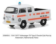 1/64 Greenlight 1977 VW Volkswagen Type 2 Double Cab Netherlands Police 29890E