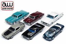 AUTO WORLD PREMIUM 2018 RELEASE 2 SET B 6-CAR SEALED CASE 1:64 DIECAST AW64172 B