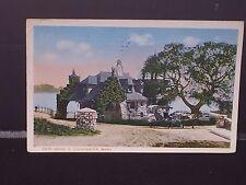 Antique POSTCARD E. Gloucester, MA. Gate Lodge, c1924 Postmarked
