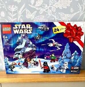 LEGO 75279 Star Wars Advent Calendar 2020 nearly complete Luke Skywalker Rey Poe