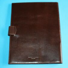 Genuine THOMAS LYTE ENGLAND A5 Removable Cover Journal Smooth Leather  RRP = £75
