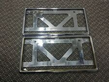 Rare JDM HONDA ACCESS GOLD  License Plate Frame Holder EG6 EG9 EK9 EF CRX