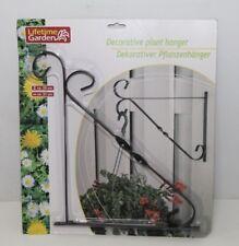 Lifetime Garden Pflanzenhänger Pflanzenhalterung Pflanzenbefestigung schwarz