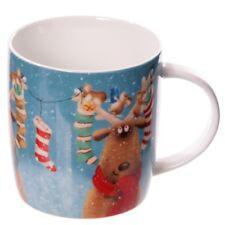 Rentier Weihnachtstasse Nikolausstrümpfe Geschenke Xmas Tasse Weihnachten