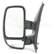 Nissan Interstar Van 2003-2011 Manual Black Wing Door Mirror Passenger Side N/S