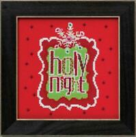 MILL HILL AMYLEE WEEKS Counted Cross Stitch Kit - HOLY NIGHT  -  AW30-4202