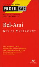 PROFIL BAC : GUY DE MAUPASSANT / PIERRE ET JEAN   - HATIER